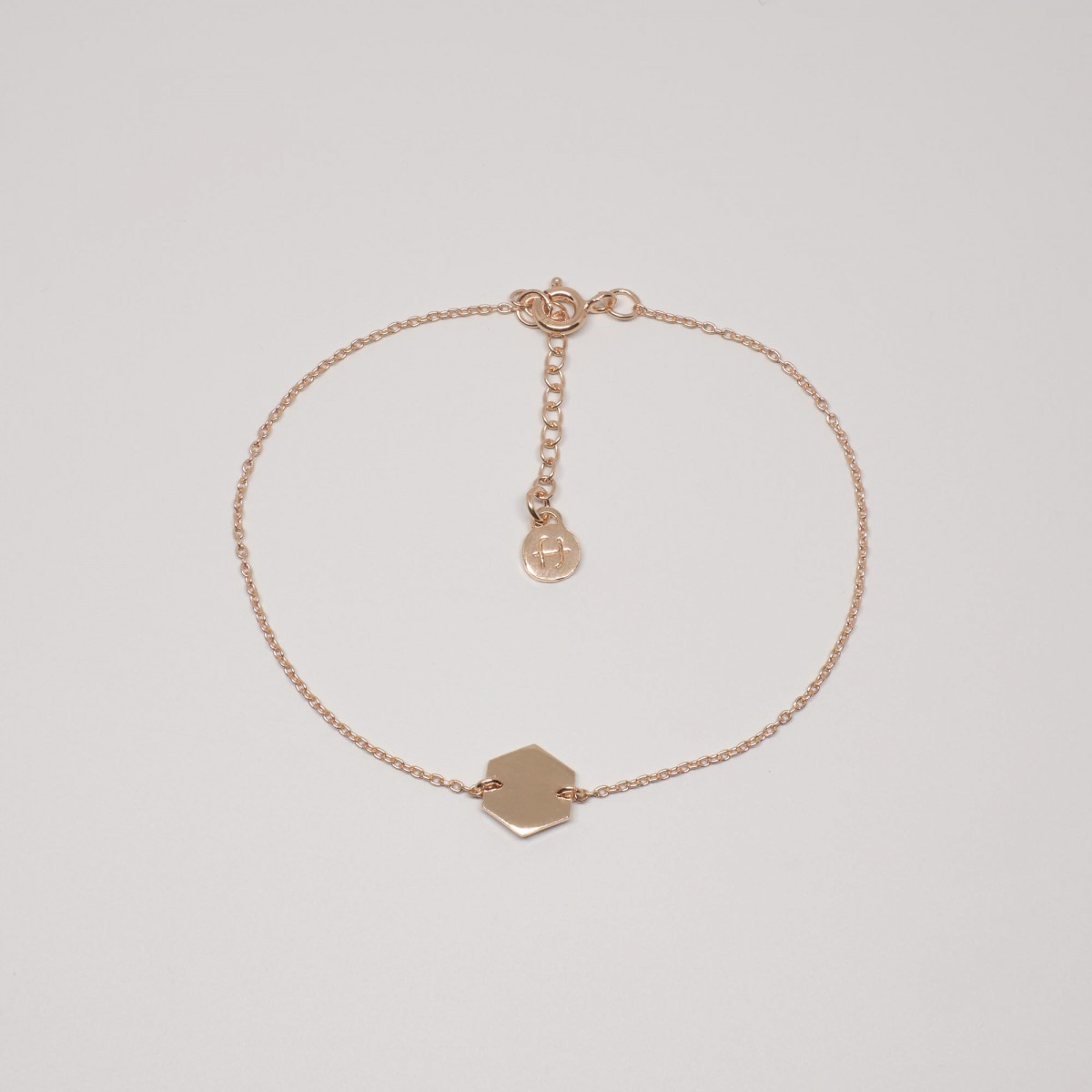 fejn jewelry - Armband 'hexagon'