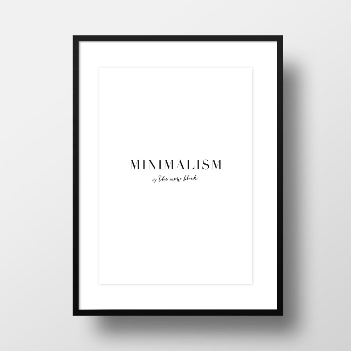 "Amy & Kurt Berlin A3 Artprint ""Minimalism"""
