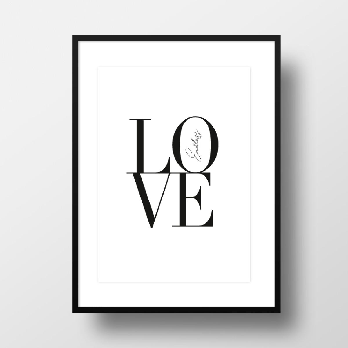 """Amy & Kurt Berlin A3 Artprint """"Endless Love"""""""