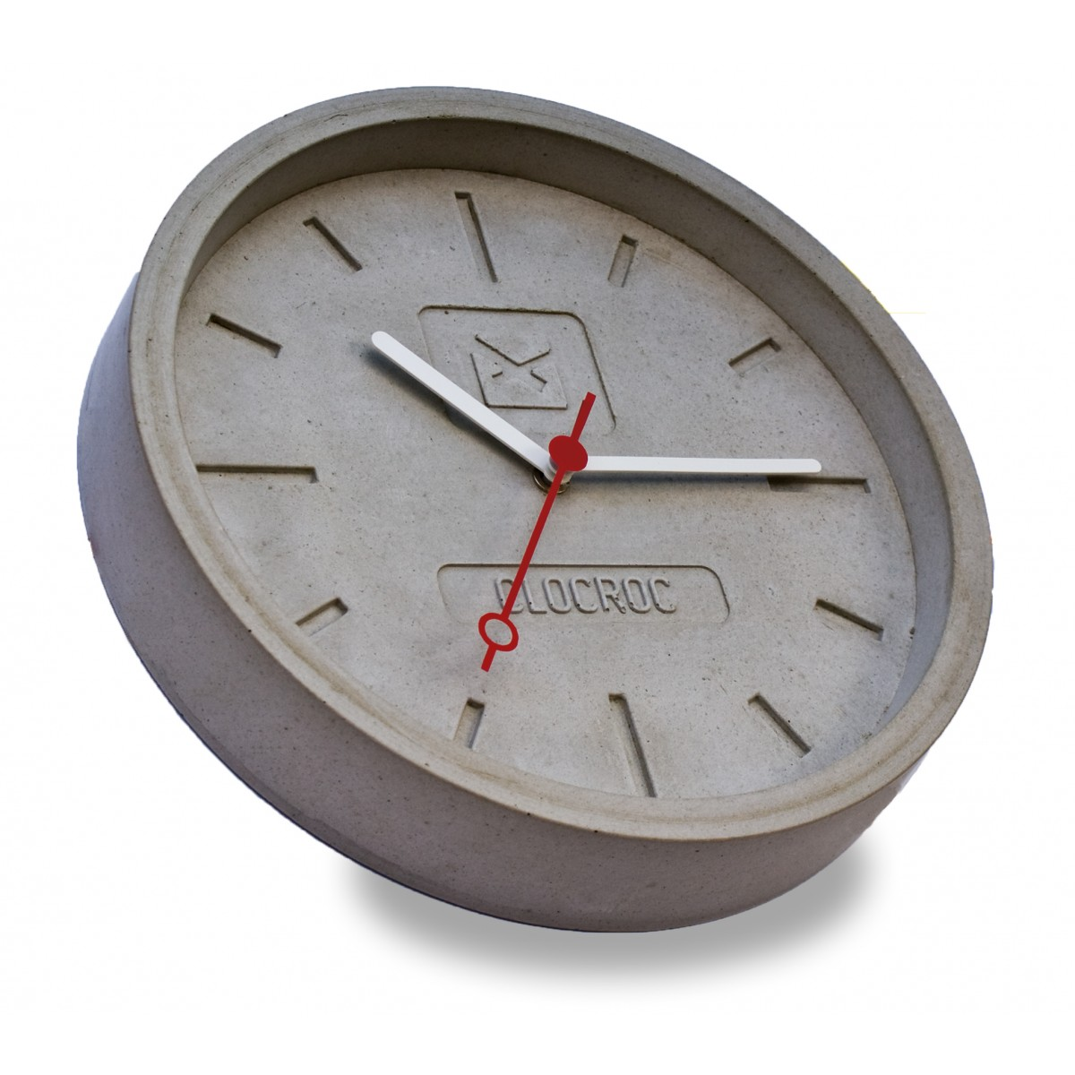 Ambientshop Clocroc Wanduhr aus Beton -  Aviation Big: