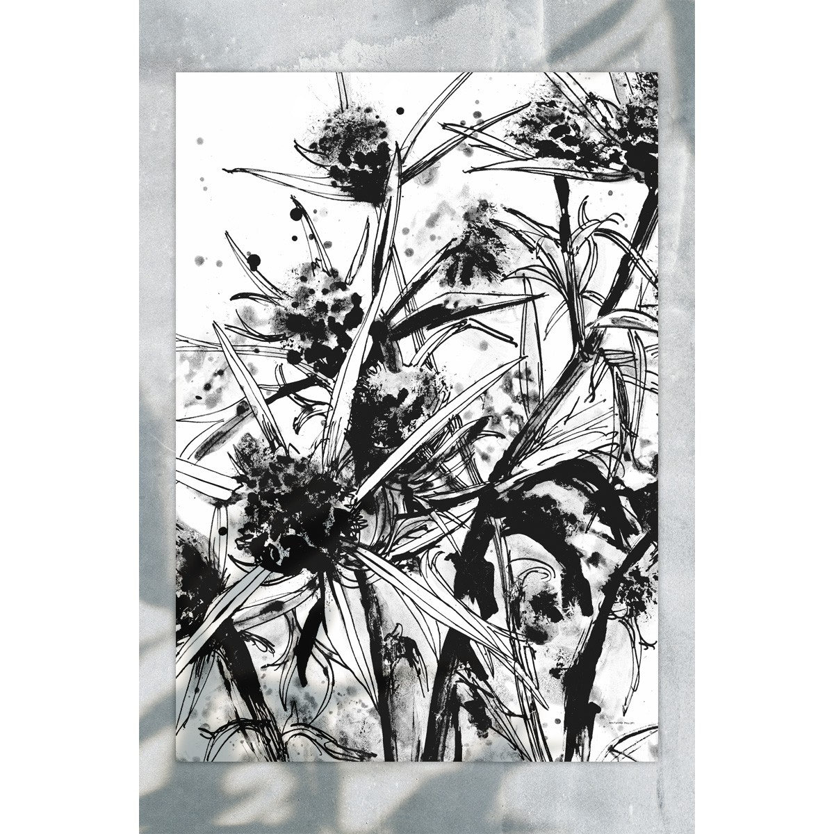 Wolfgang Philippi BANISCHKA Plakat 70x100cm