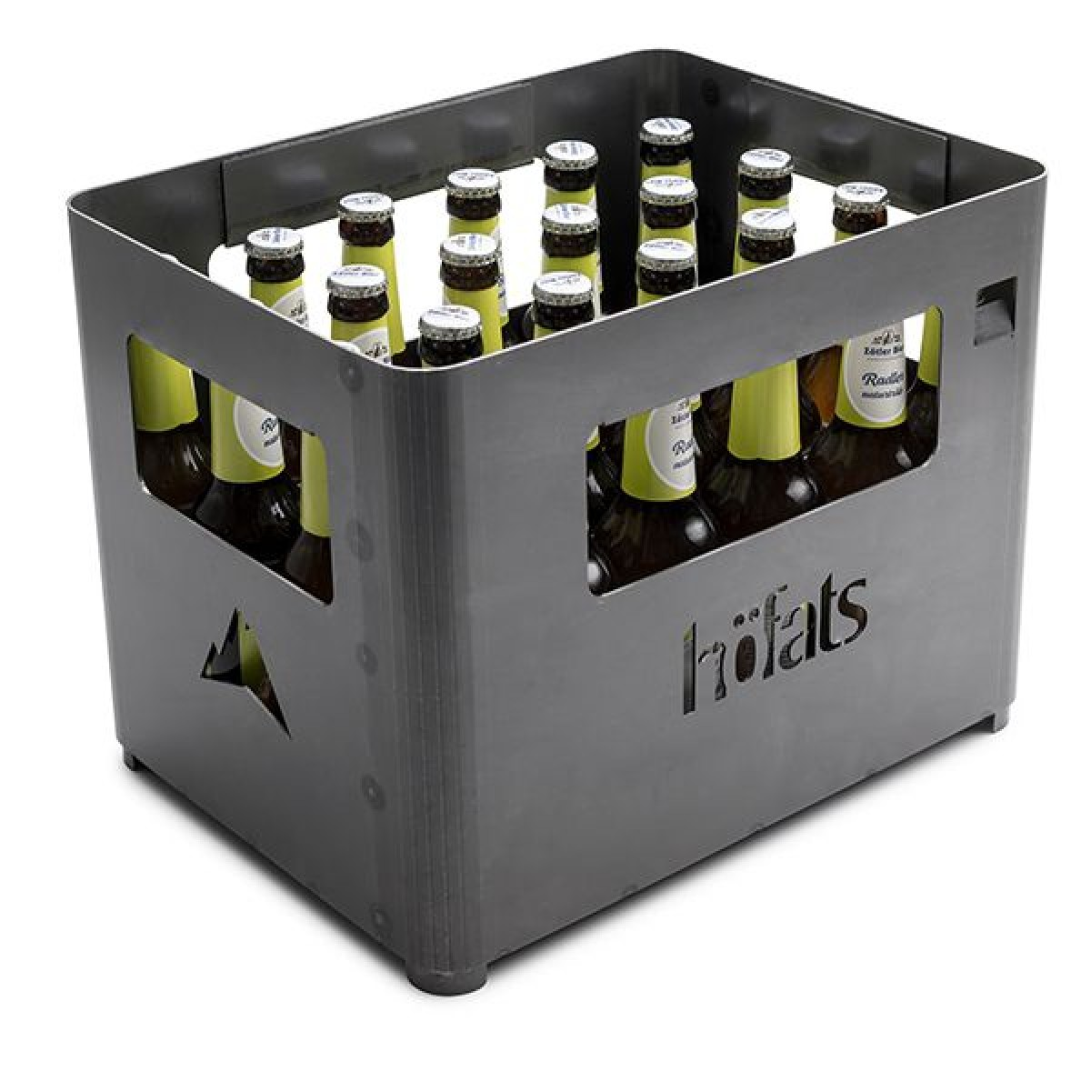 höfats BEER BOX || Beverage Crate | Fire Basket | Grill | Stool || Getränkekiste | Feuerkorb | Grill | Hocker
