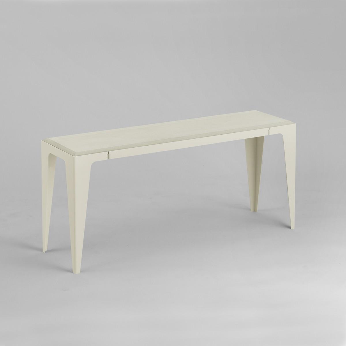 BANK |CHAMFER| Seiden-Grau | nachhaltiges Möbeldesign | WYE