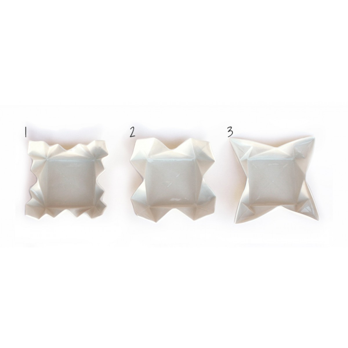 moij design Origami Snackschale natur