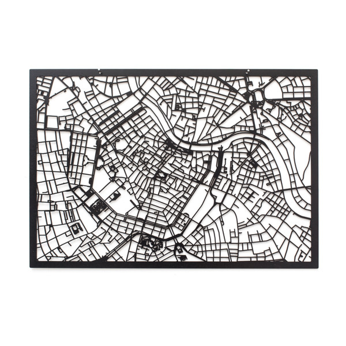 Frau Schneize 3D Stadtplan WIEN