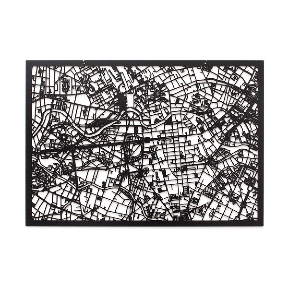 Frau Schneize 3D Stadtplan BERLIN