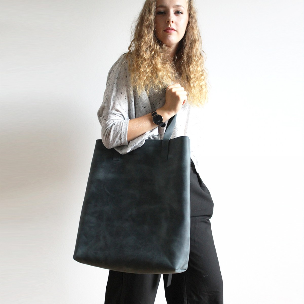 GROTKOP COLLECTION LUNA BIG SHOPPER blau