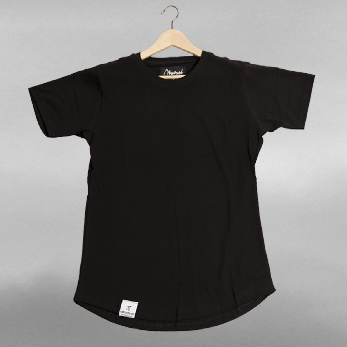 OBSERVED BLANK SHIRT Black