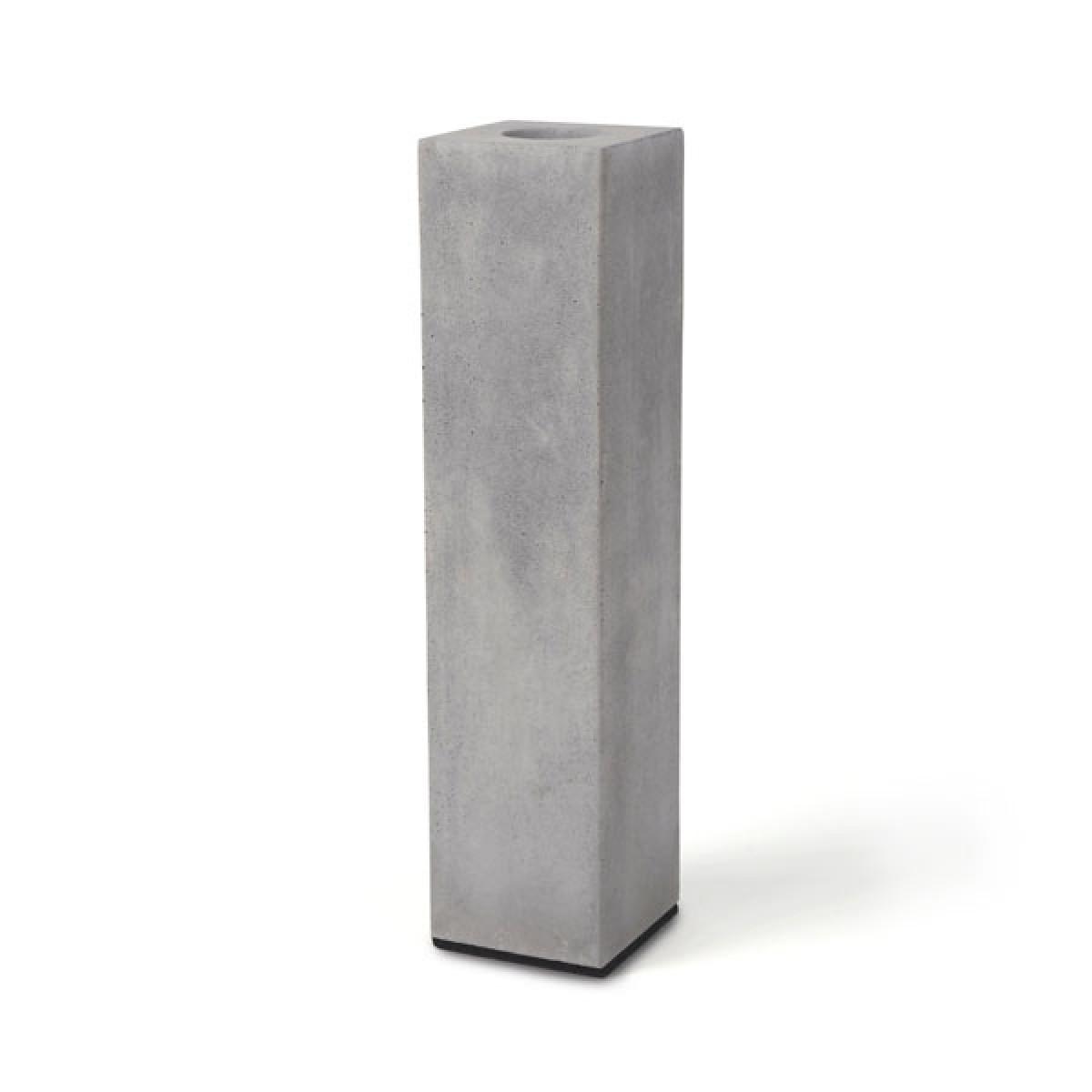 "Korn Produkte Vase ""BLOCK"" aus Beton"