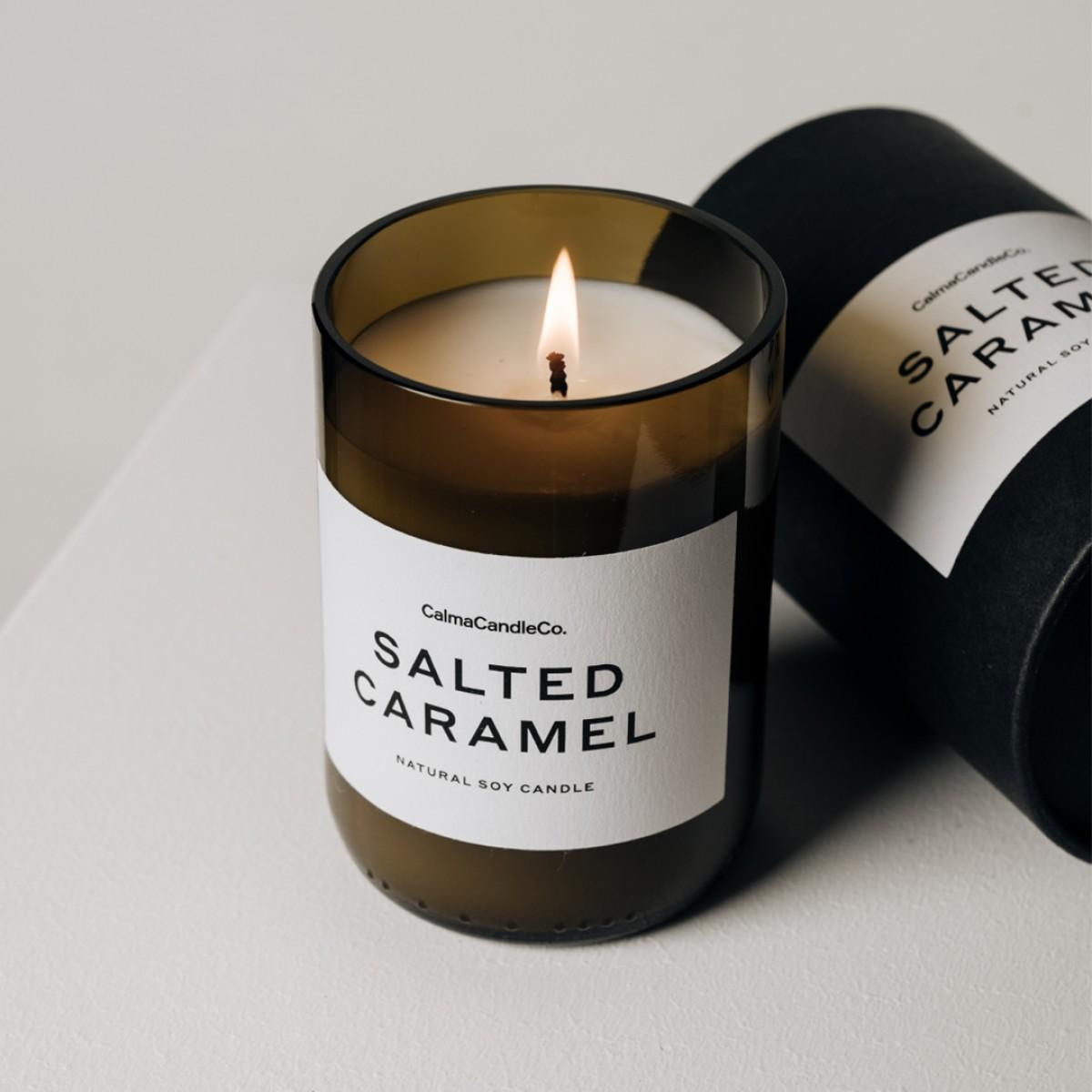 Calma Candle Co. Duftkerze Salted Caramel