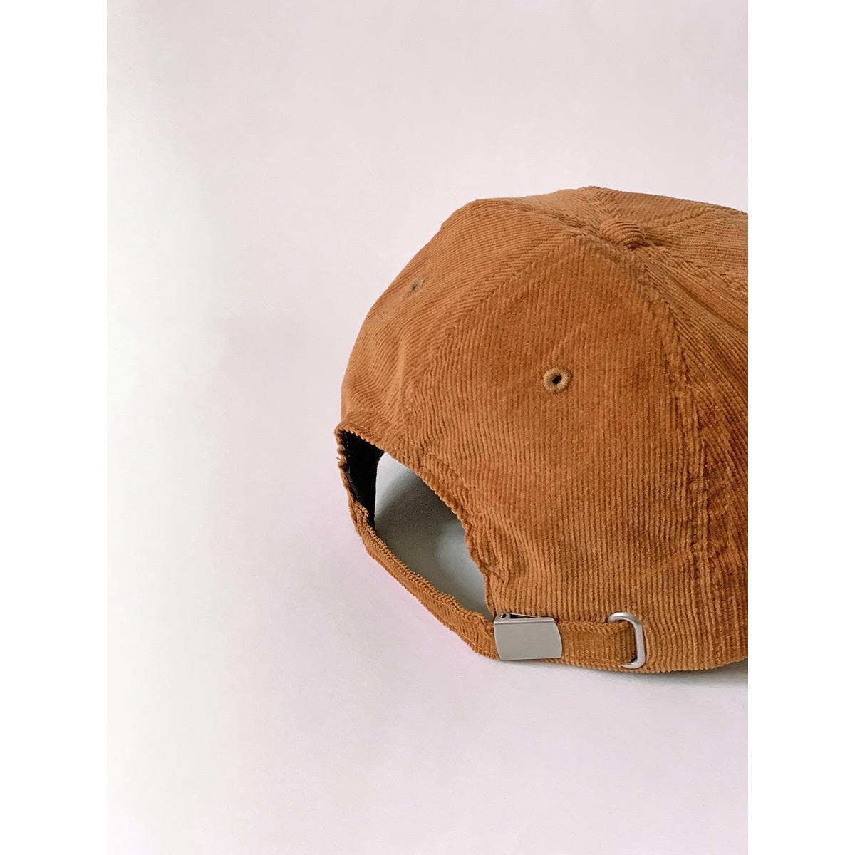 hey hey Rainbow cap - camel (Stick hinten)
