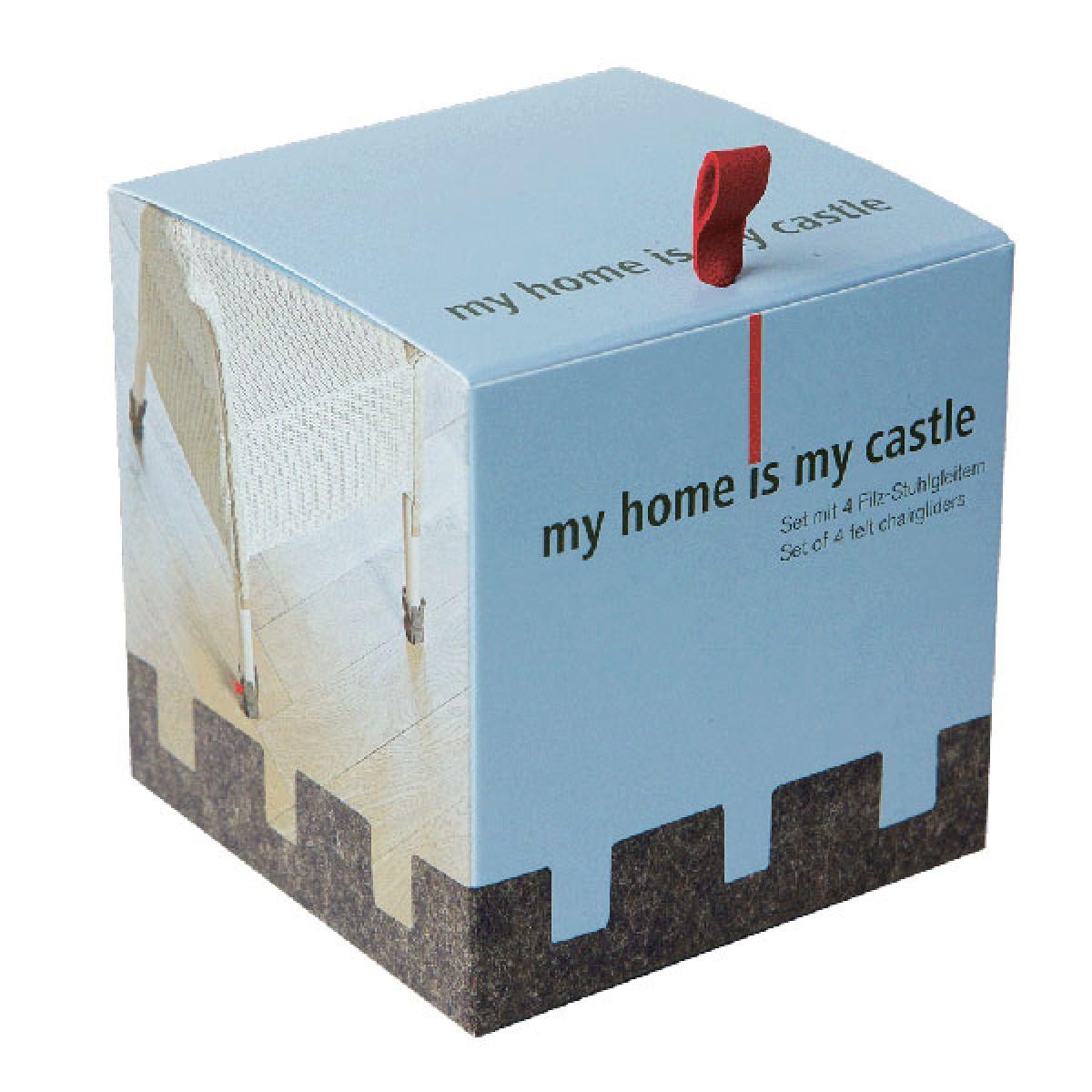 stand der dinge - my home is my castle Filzstuhlgleiter