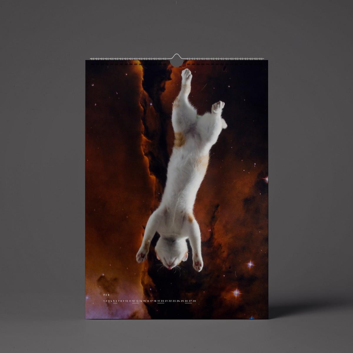 """""""CATS IN SPACE"""" Kalender 2022 (Vorbestellung)"""