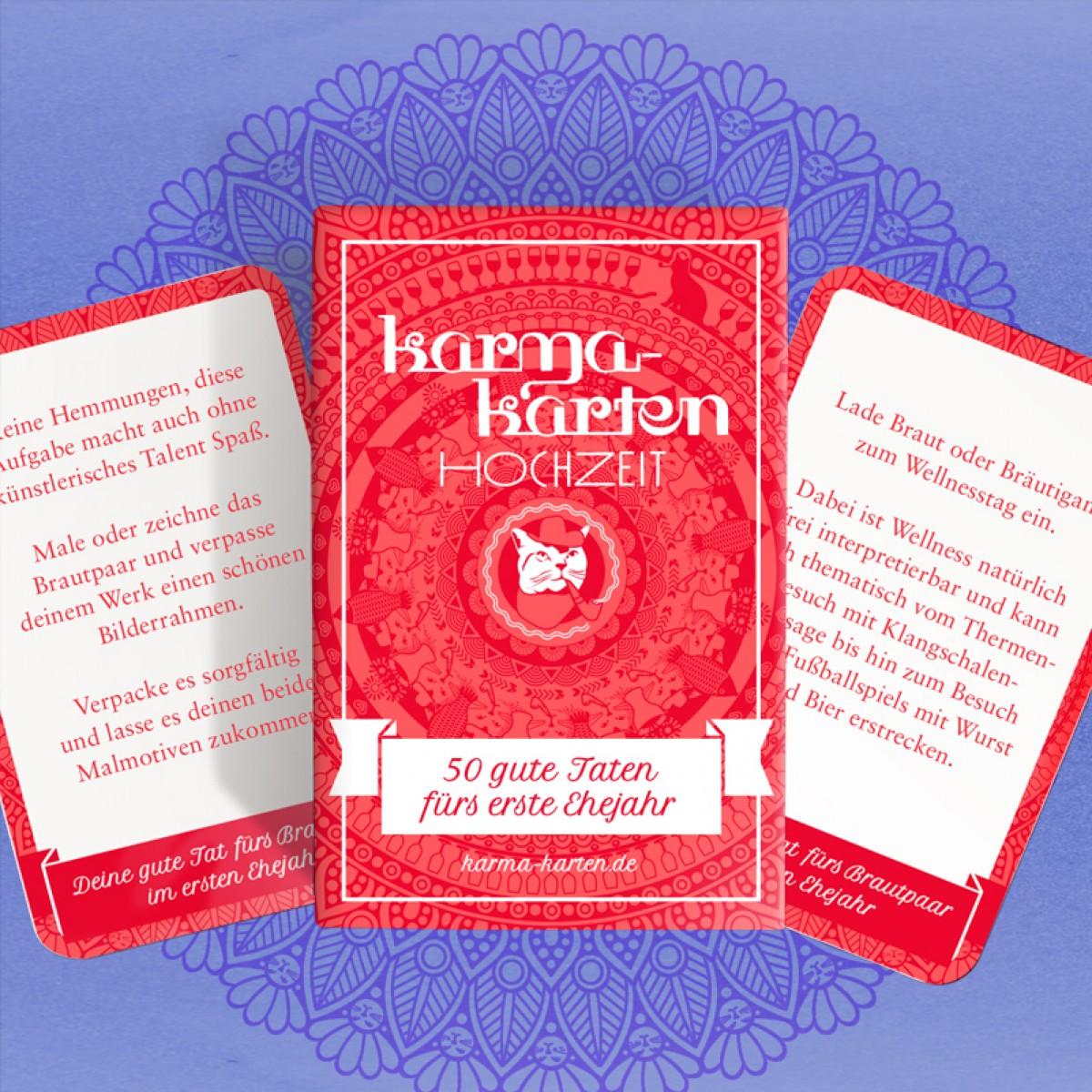 Chaoskarten Karmakarten Hochzeit