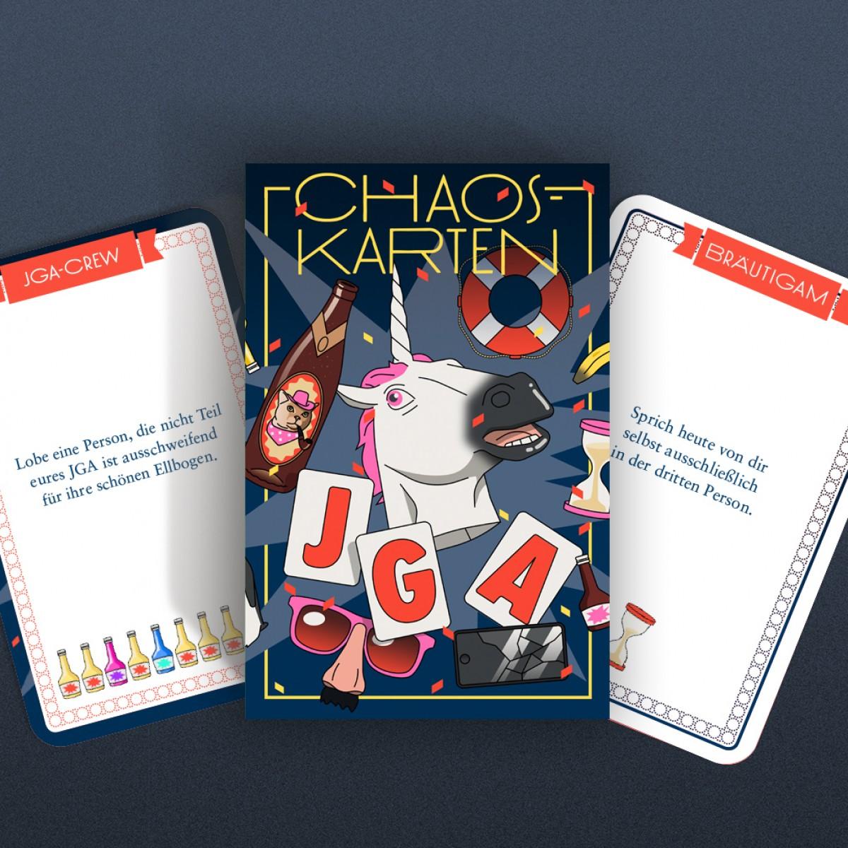 Chaoskarten Junggesellenabschied (Künstleredition)