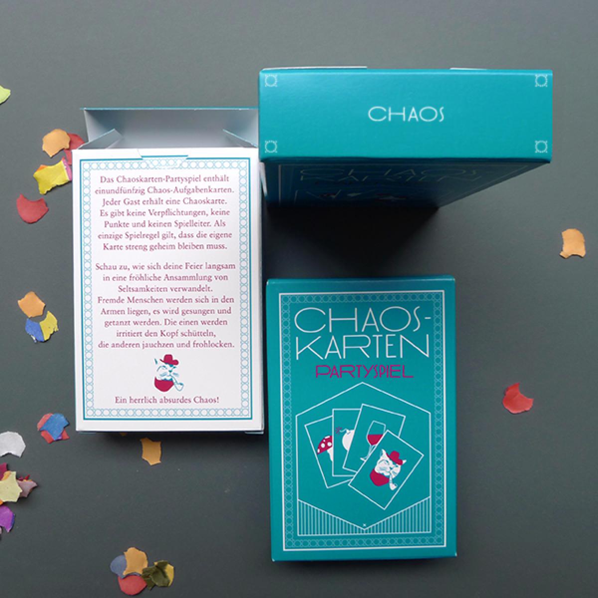 Chaoskarten Partyspiel
