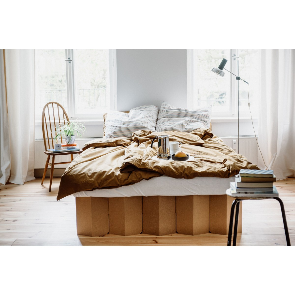 Das Bett 2.0 (natur) | ROOM IN A BOX