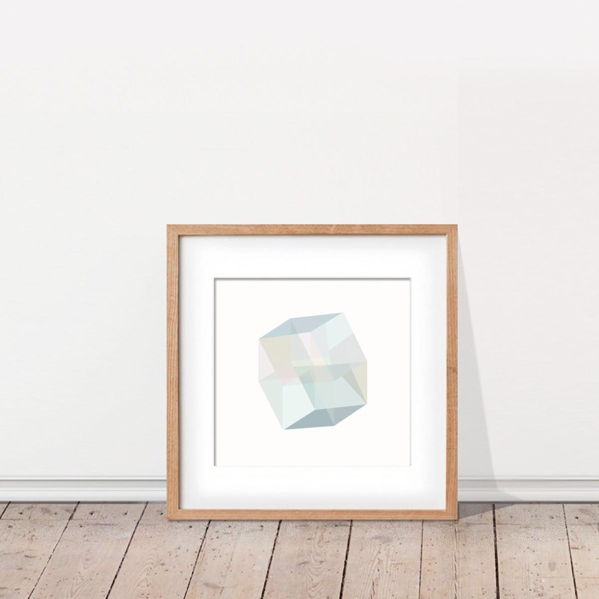 KAMI. poster – cube