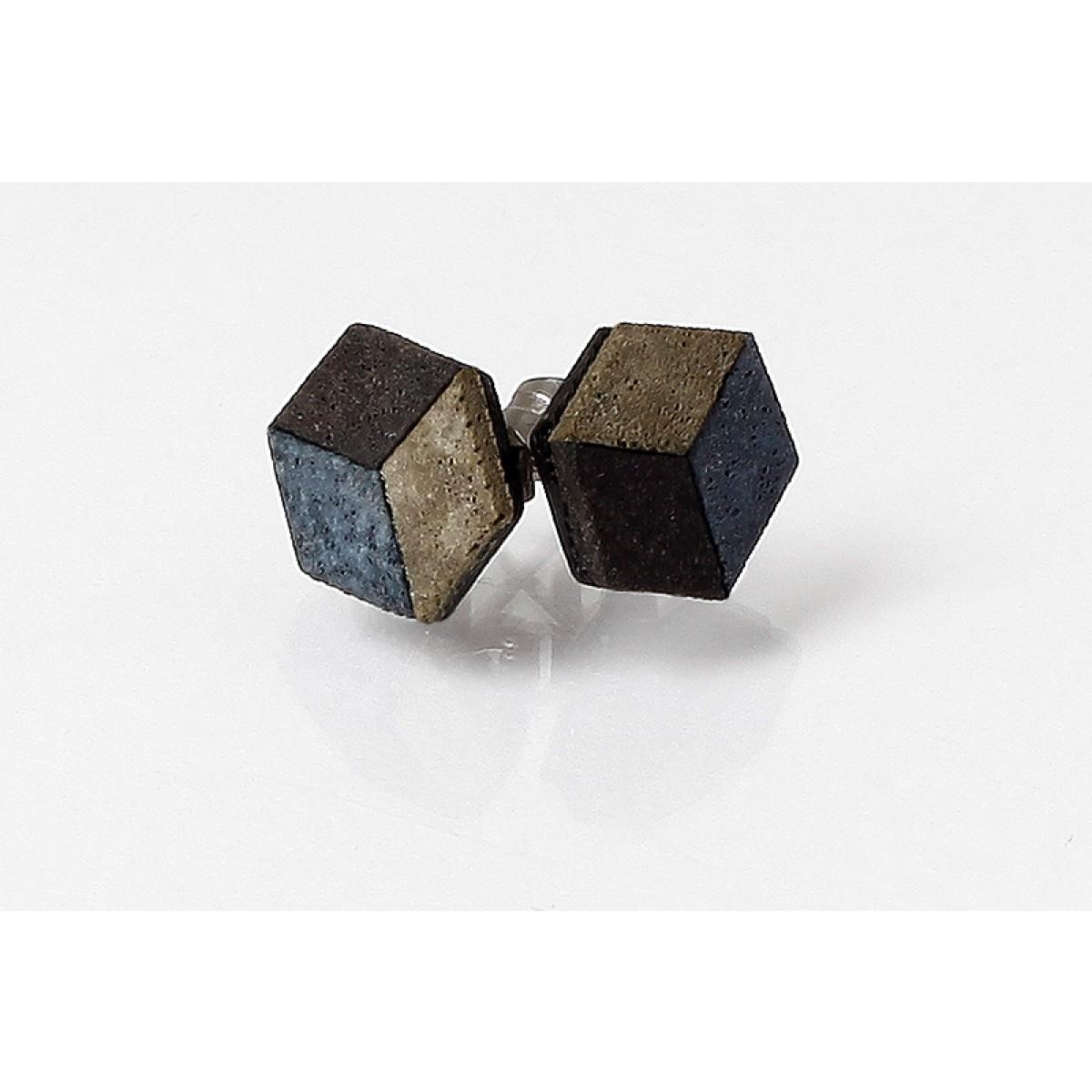 cubies | Ohrstecker aus Beton