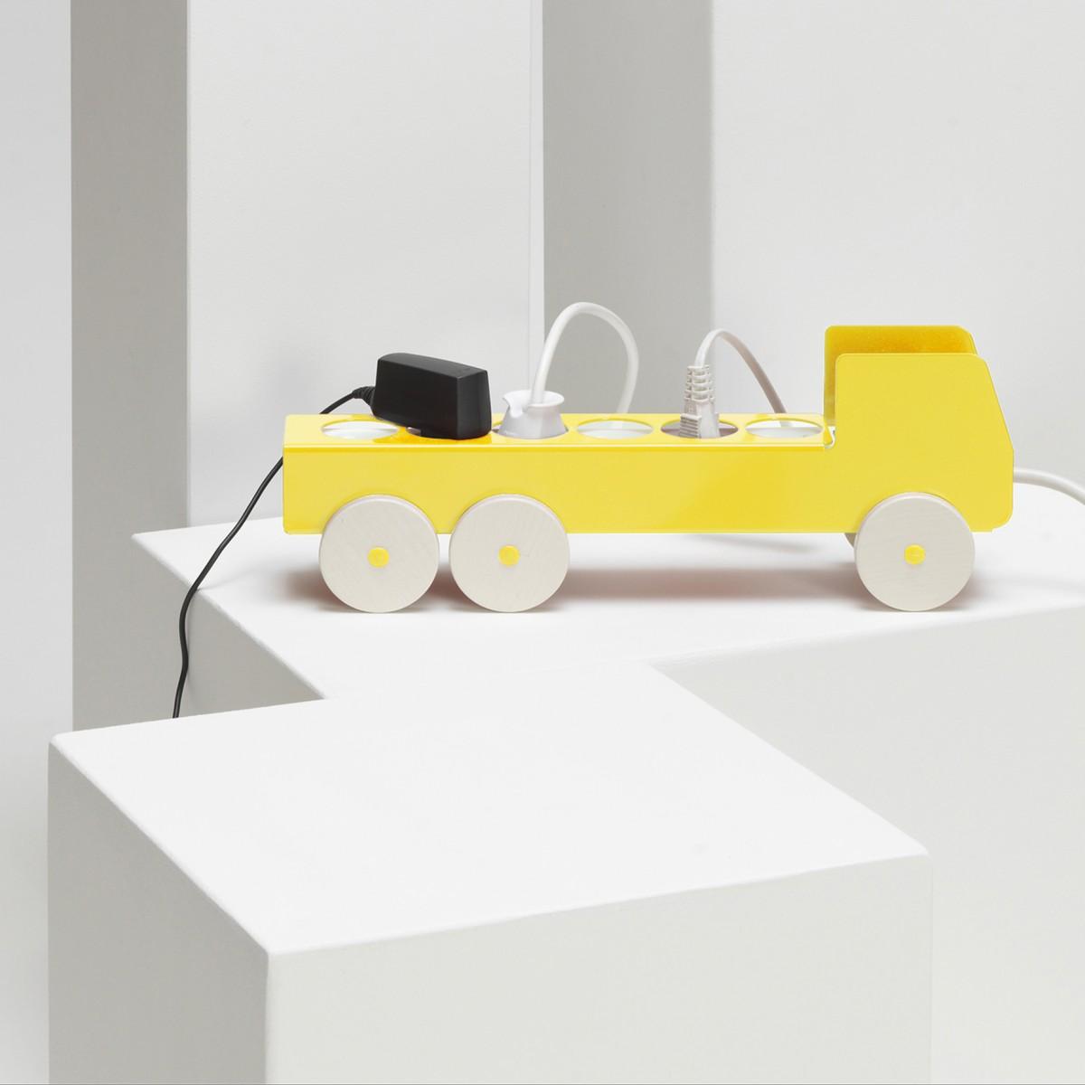 details, produkte+ideen plugTRUCK 5er/6er Steckerleiste