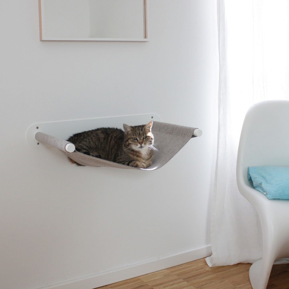 Design Sebastian Frank - PET BOARD SWING - Katzenhängematte