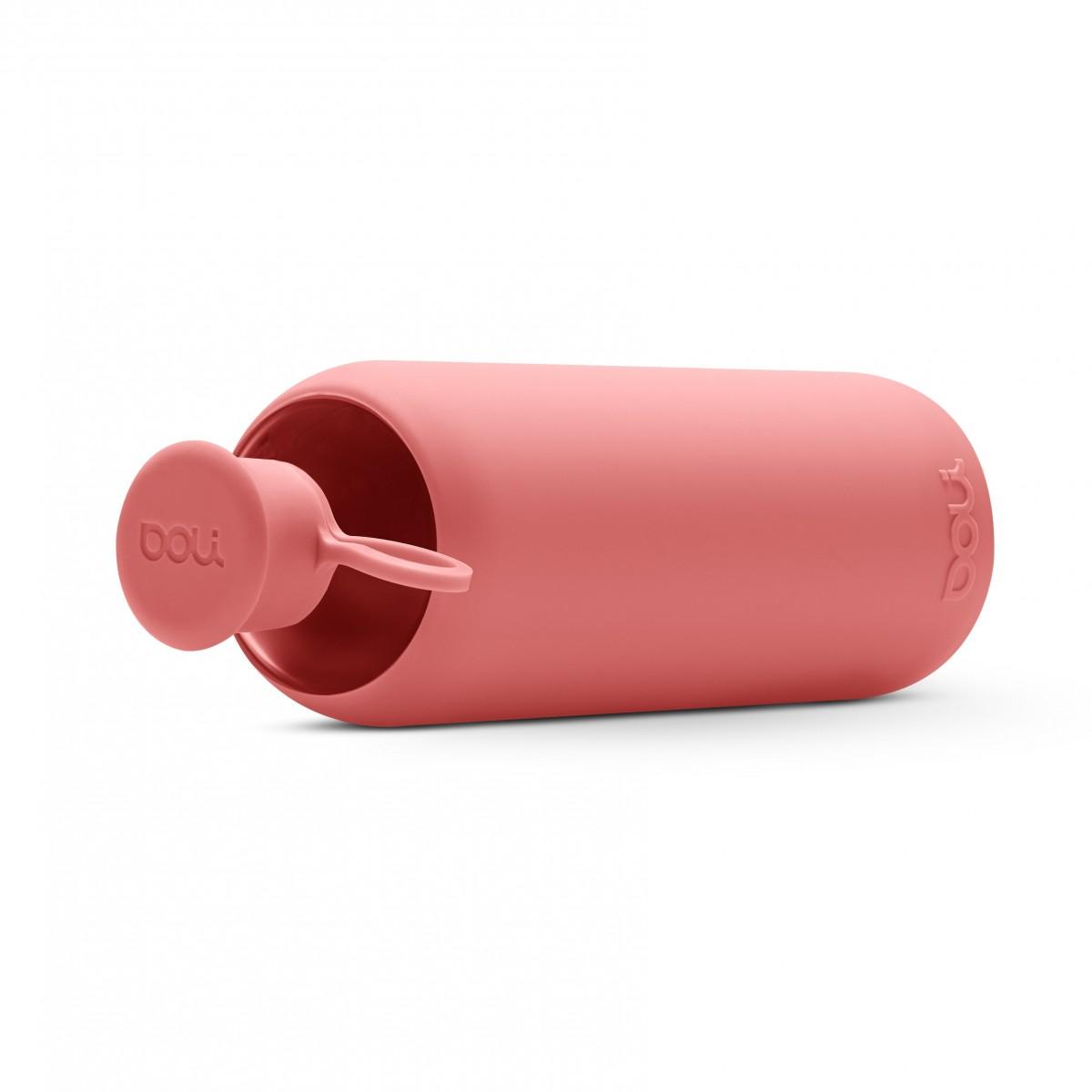 Doli - Rose Trinkflasche aus Glas 550ml
