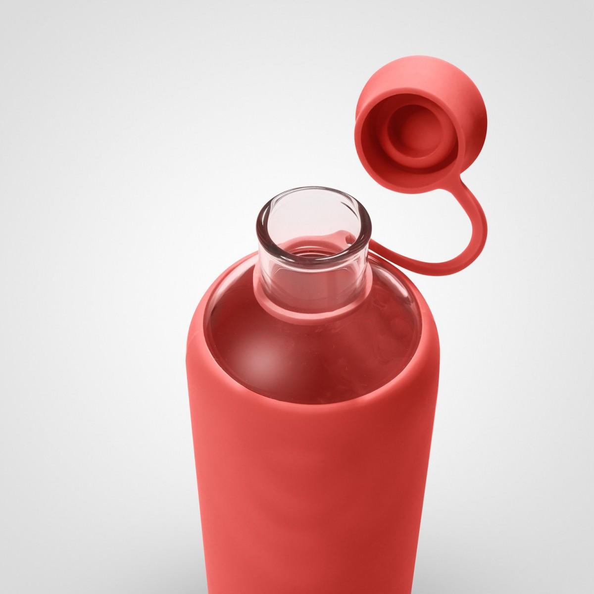doli rose trinkflasche aus glas 550ml. Black Bedroom Furniture Sets. Home Design Ideas