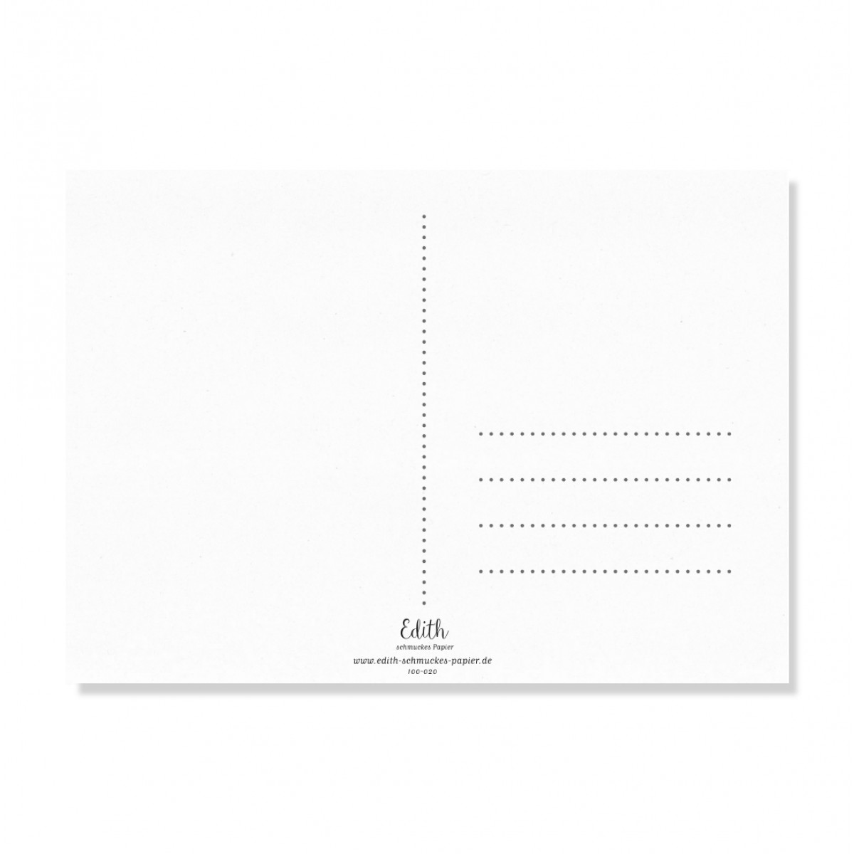 "Edith schmuckes Papier ""Happy - Postkarte Set"""