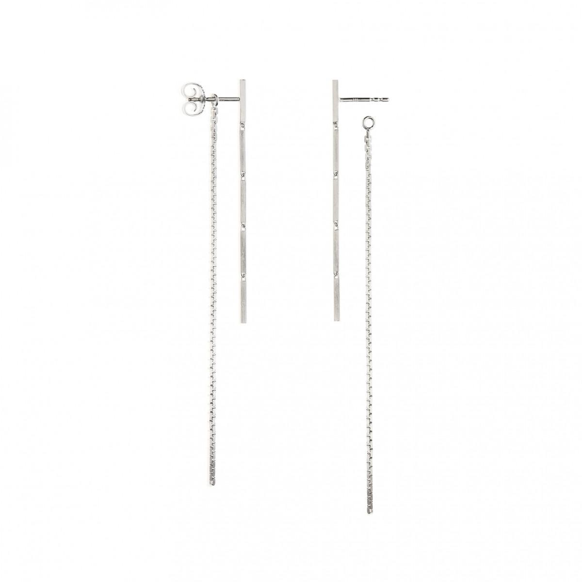 Jasmina Jovy Jewellery Hidden Faces Ohrringe EAHF01 silver