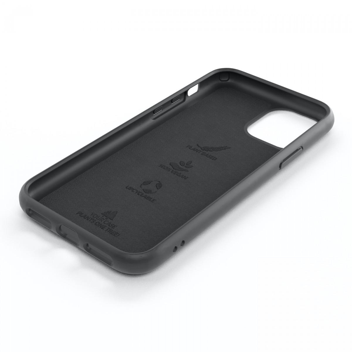 Woodcessoires – Nachhaltige iPhone Hülle aus Bio-Material für iPhone 12 / Mini / Pro / Pro Max (schwarz)