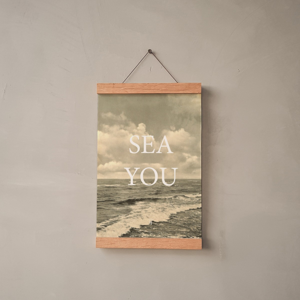"edition ij ""sea you"" Poster/Artprint DIN A4"