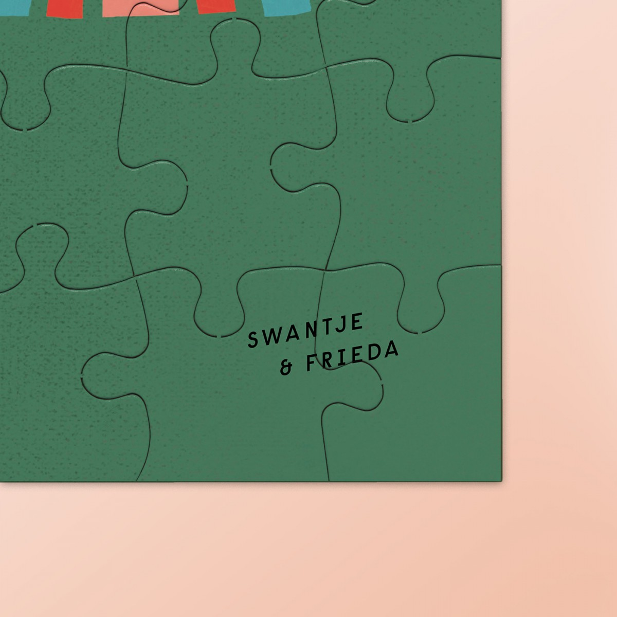 "edition ij x Swantje&Frieda ""WHERE THE WILD B**BS ARE"" Puzzle, 30x30 cm + Spende"