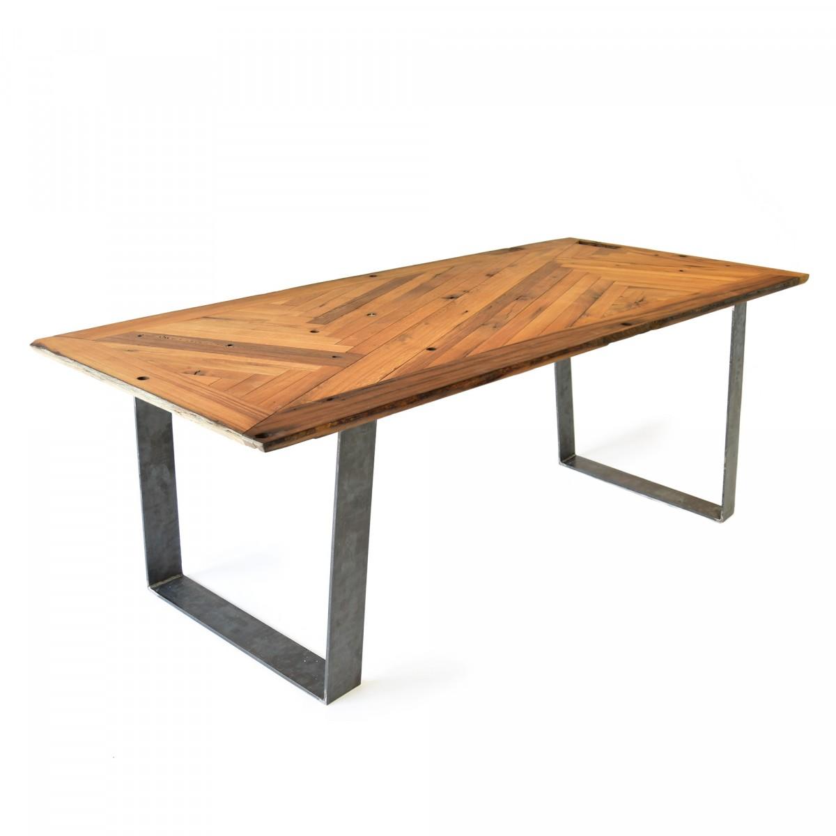 reditum tisch mit magnetischen beinen lignaro eiche fischgr t 1. Black Bedroom Furniture Sets. Home Design Ideas