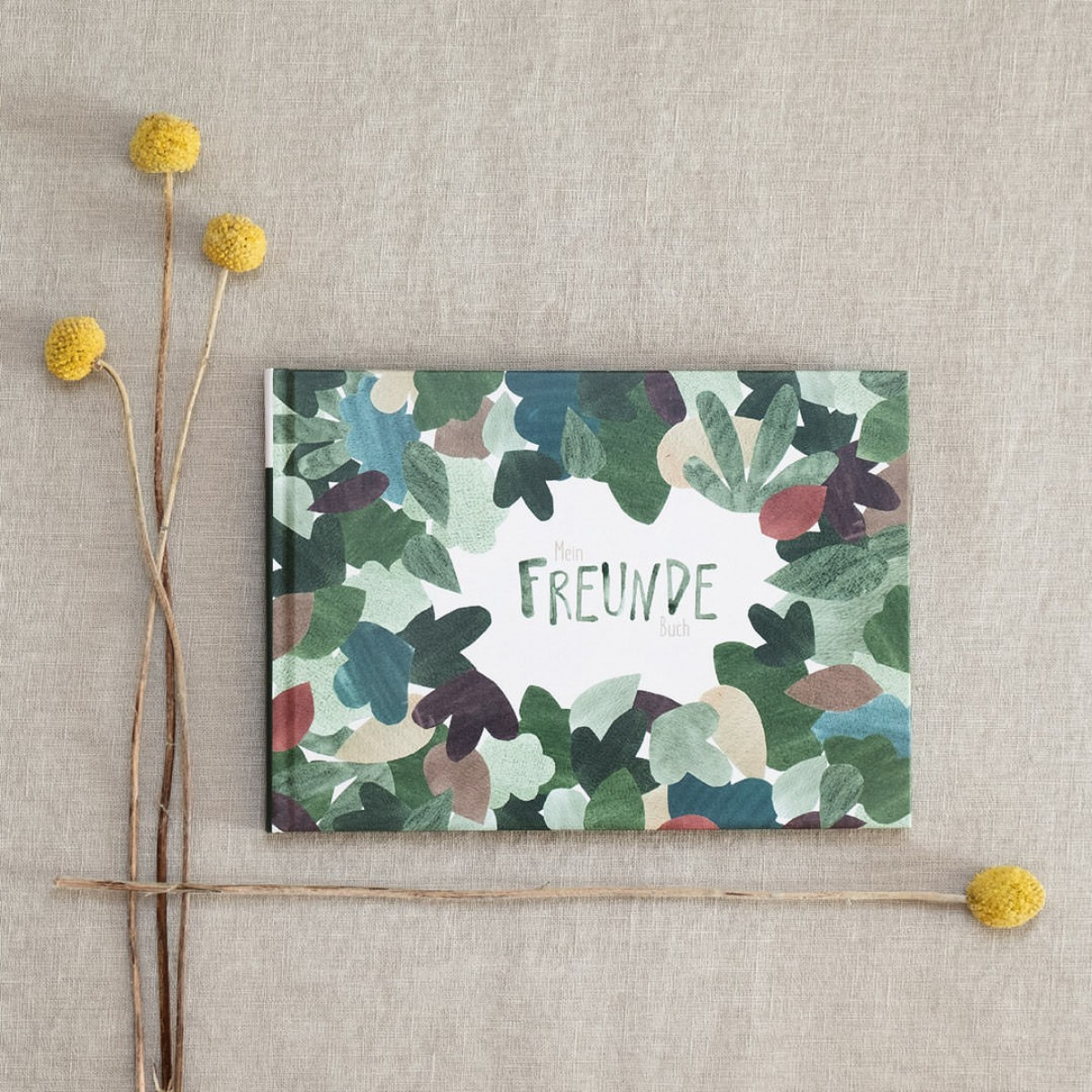 Freundebuch für Kindergarten und Schule - Blätter - Elliet