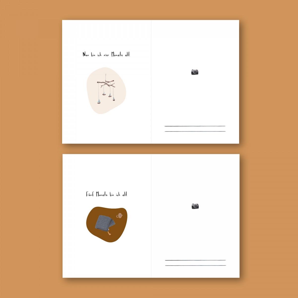 Babybuch – Dein erstes Jahr in Bildern