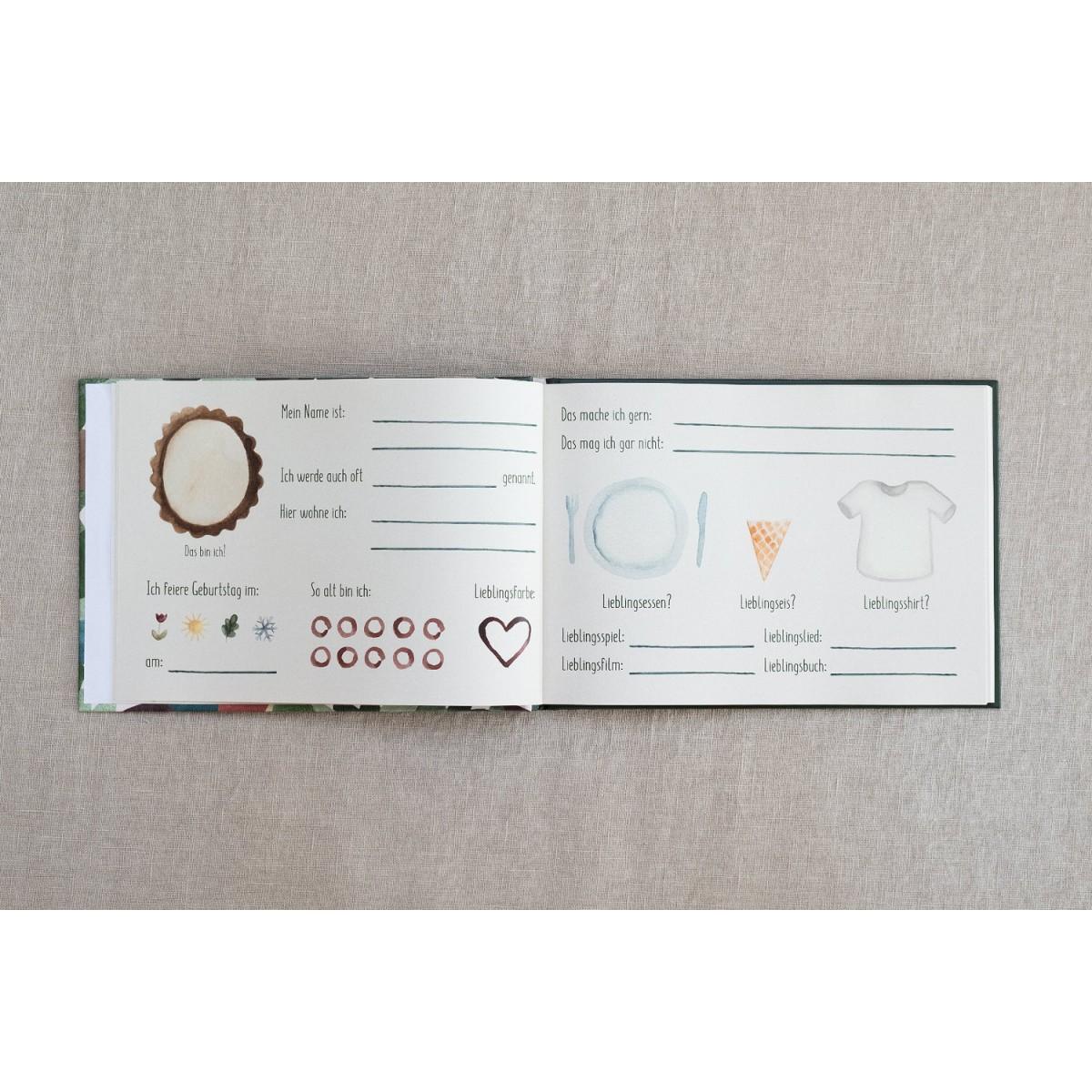 Freundebuch für Kindergarten und Schule