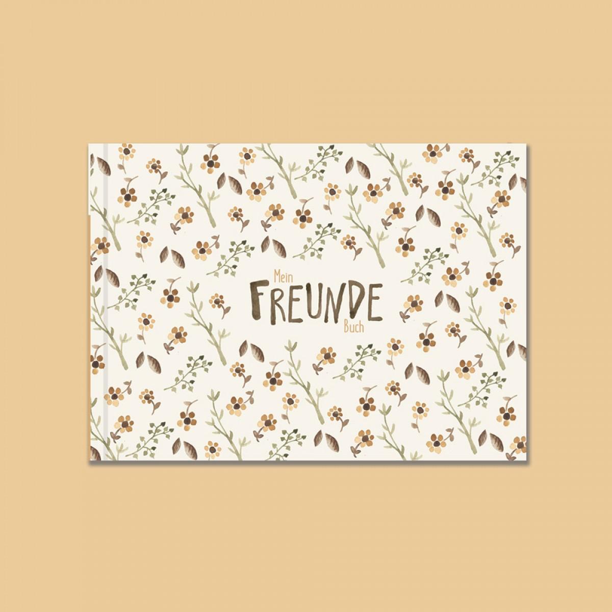 Freundebuch für Kindergarten und Schule - Blumen - Elliet