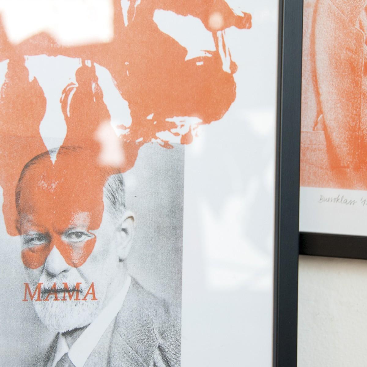 Dr. Freud und Rorschach-Test \