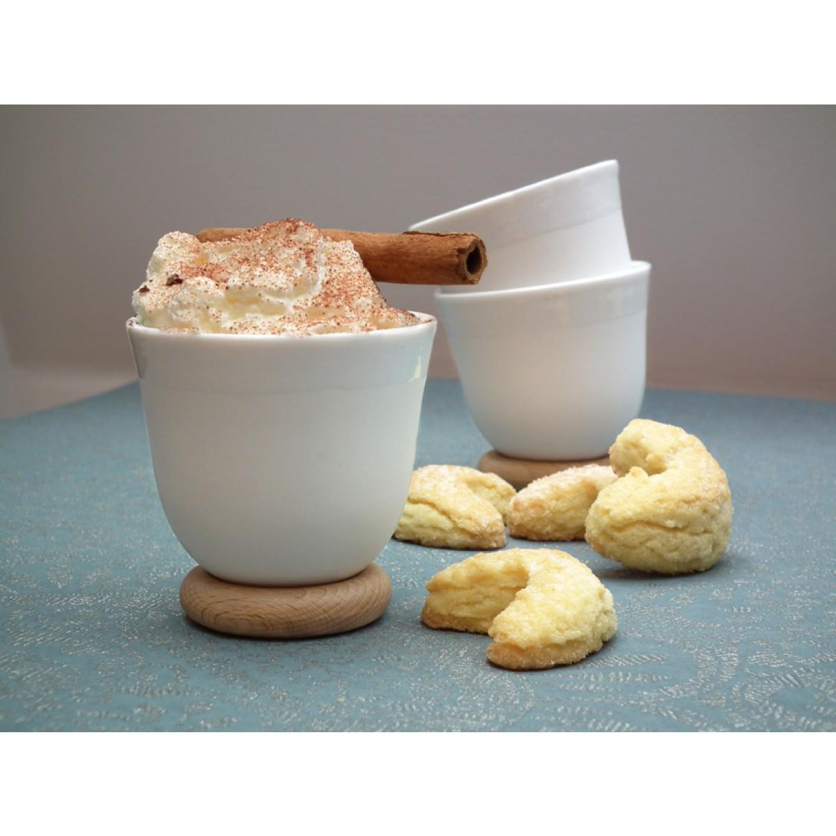 soprana design YOU Set Espressotasse biskuit, 6 Stück