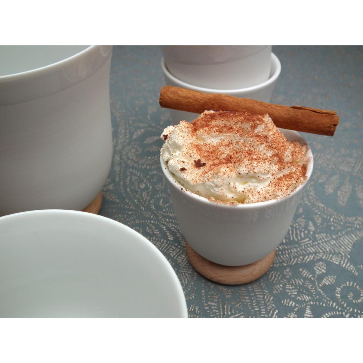 soprana design YOU Set Espresso biskuit, 6 Stück