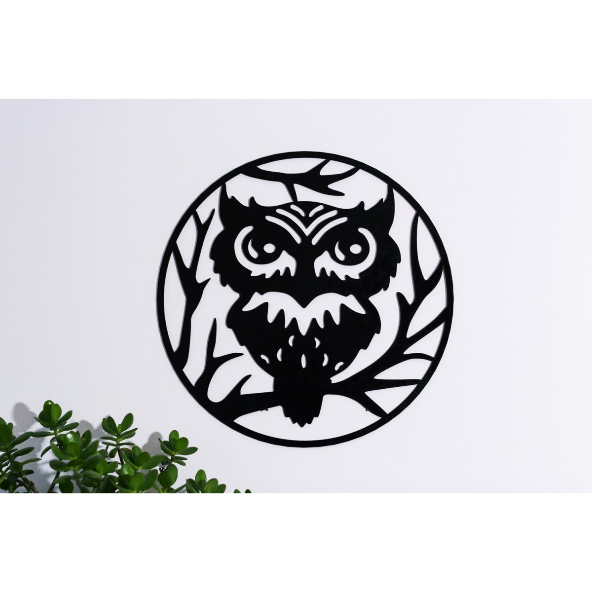 Wanddeko OWL, 45cm