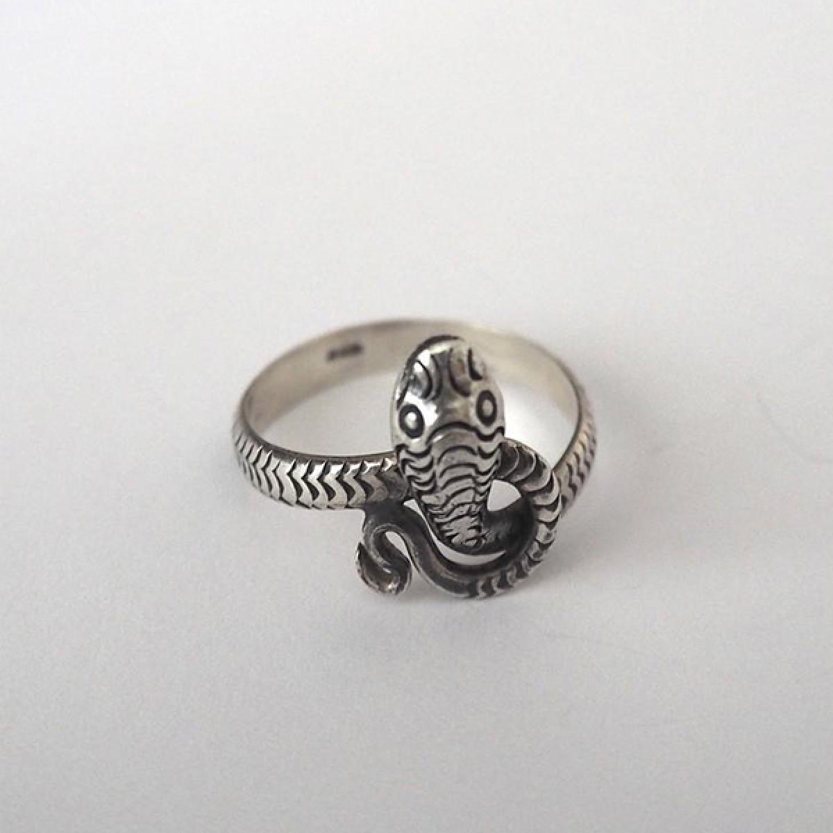 Fünf Snake Ring Satu