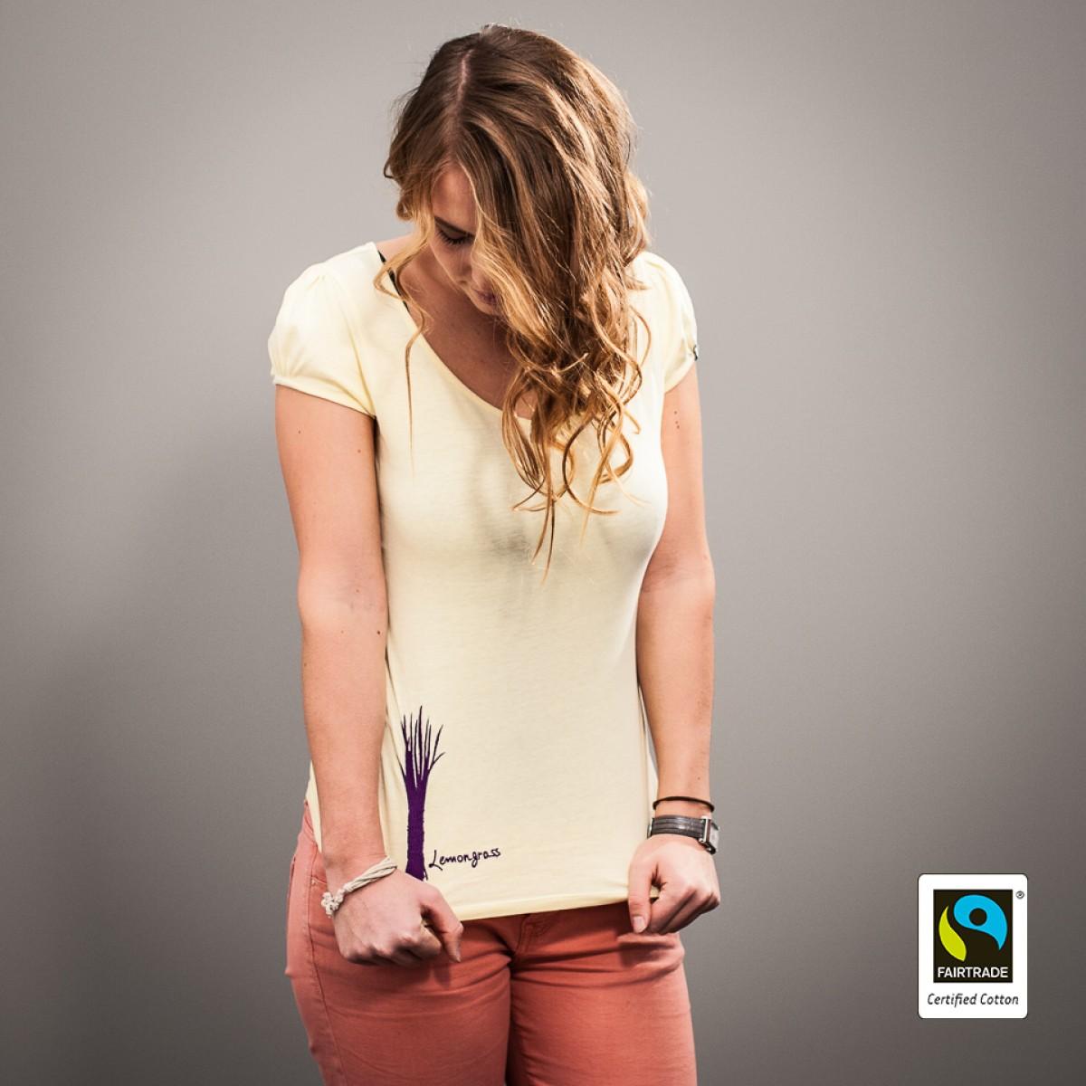 """Frauen Fairtrade-Shirt """"Lemongrass"""""""