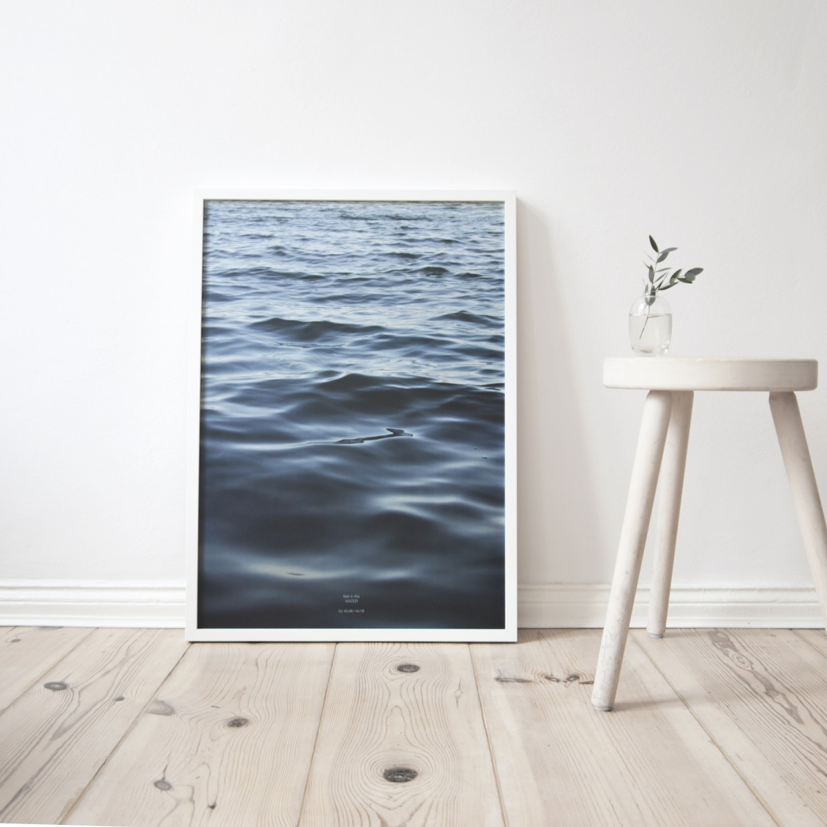 na.hili feet in the WATER - A3 Artprint - Poster