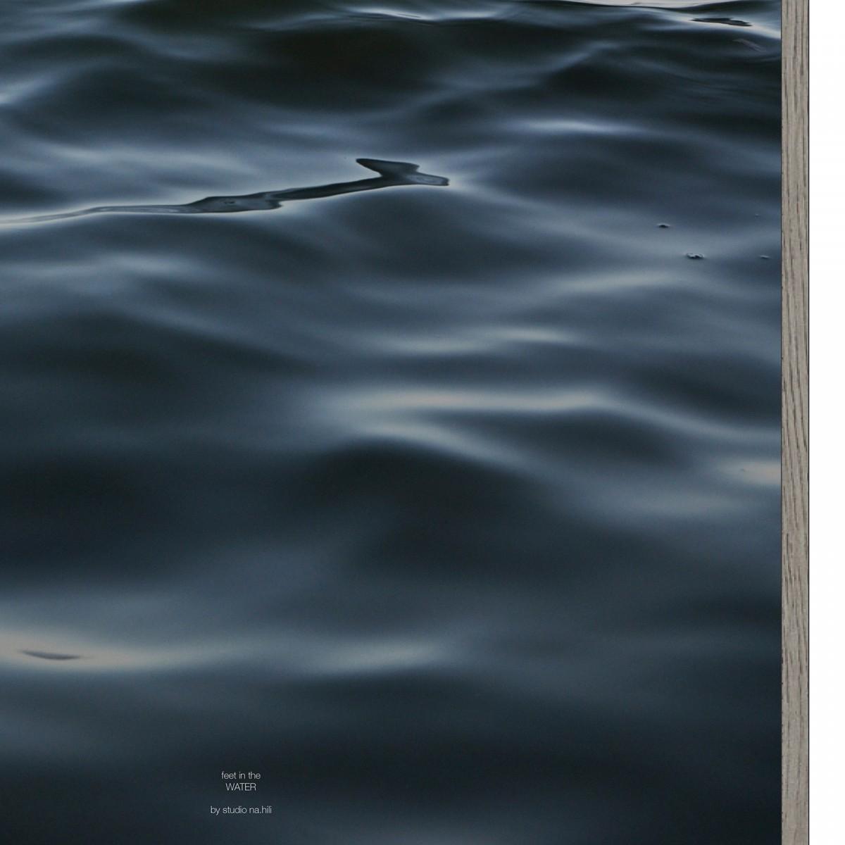 feet in the WATER - A1 Artprint - Poster