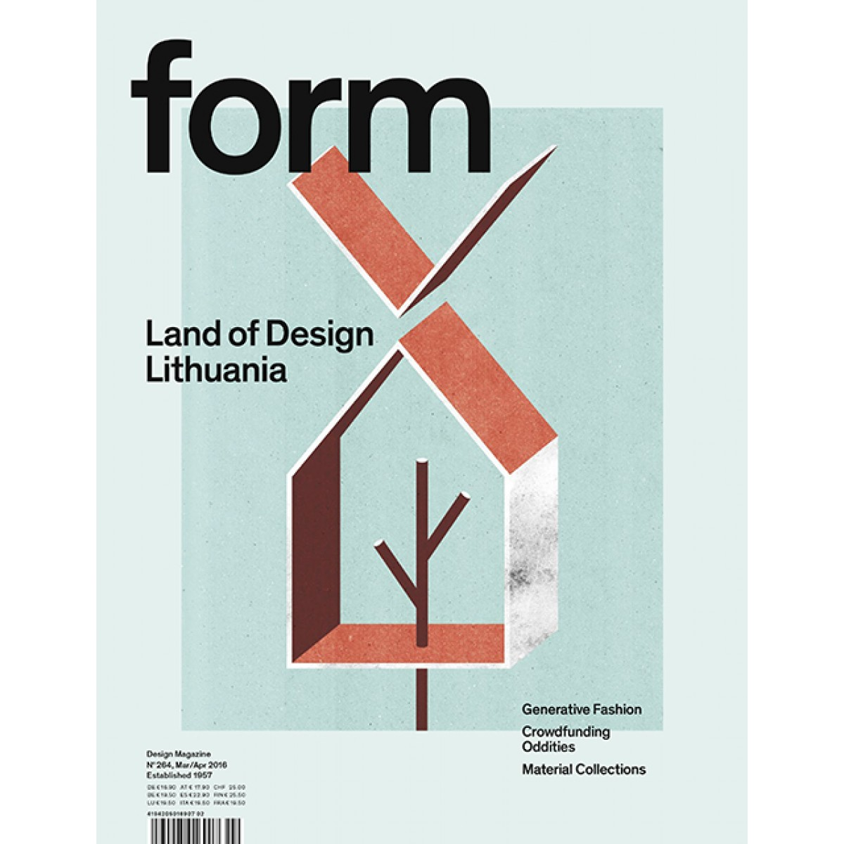 form Nº 264. Land of Design Lithuania.