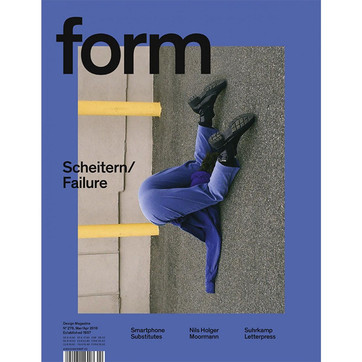 form N° 276. Scheitern/Failure