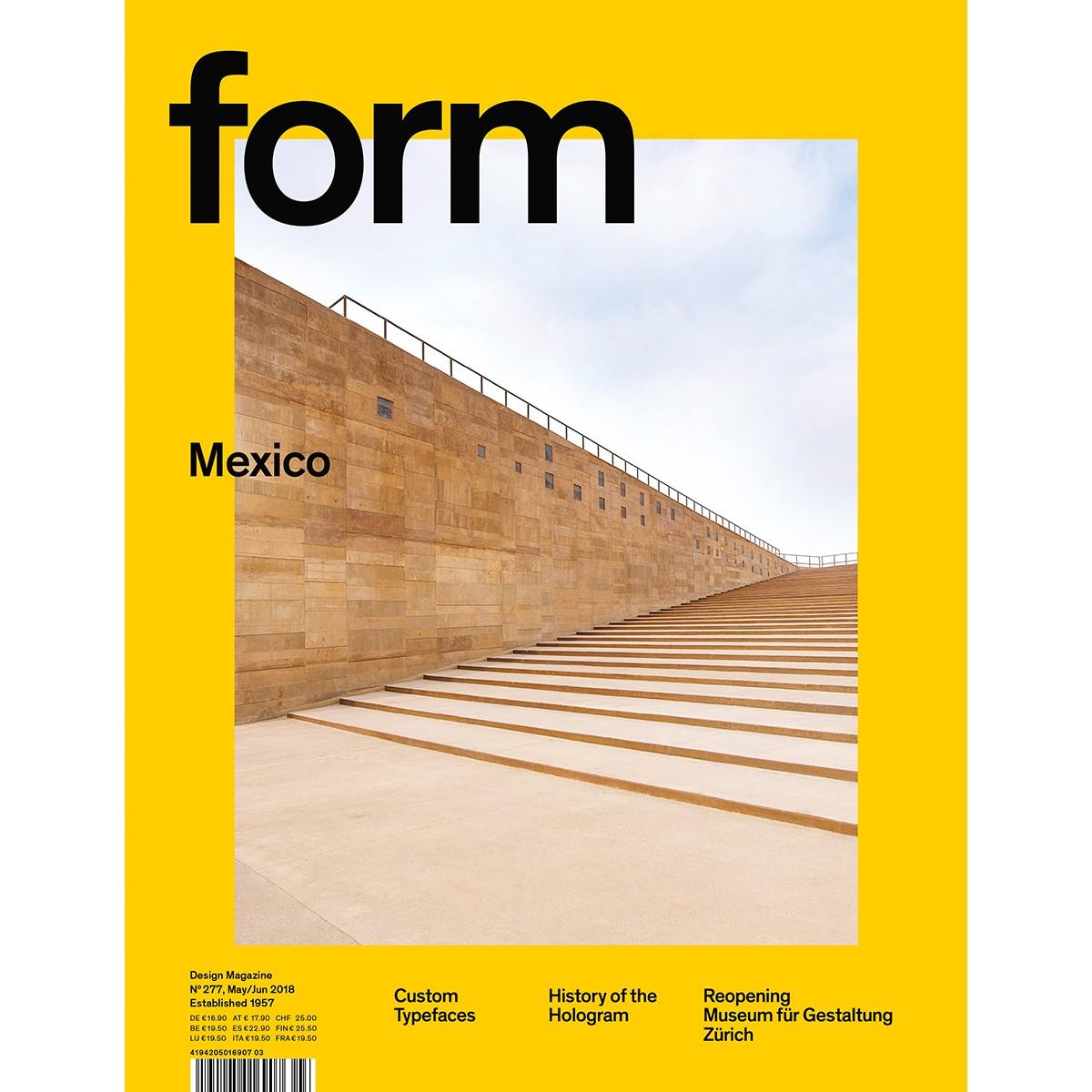form N° 277 Mexico