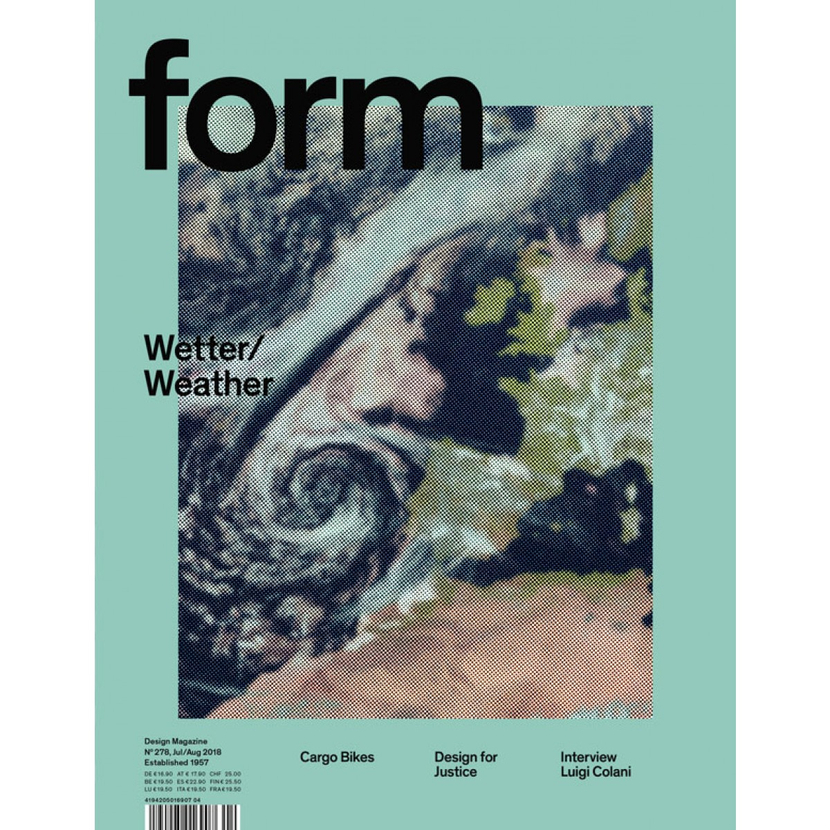 form N° 278 Wetter/Weather