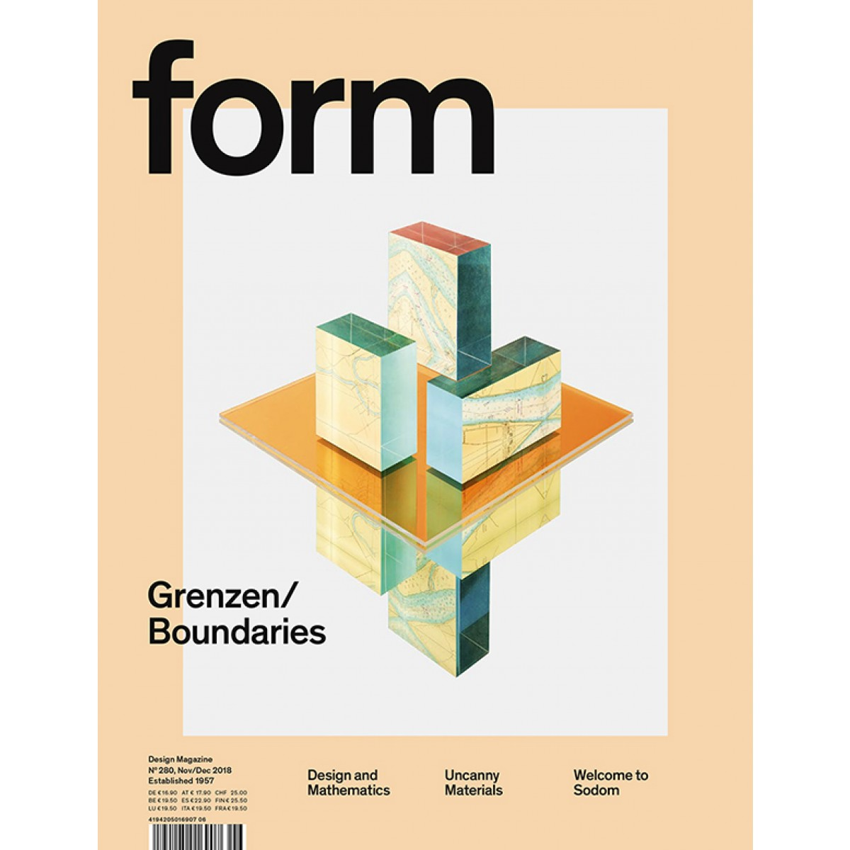 form N° 280. Grenzen/Boundaries